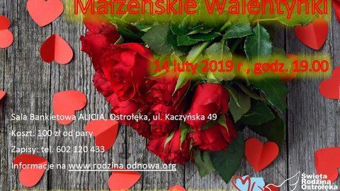 Małżeńskie Walentynki – Ostrołęka 14.02.2019r.