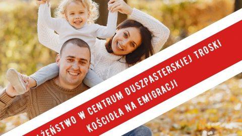Zaproszenie na II Polonijny Kongres Rodzin w dniu 21 listopada 2020 r. (sobota) – on line